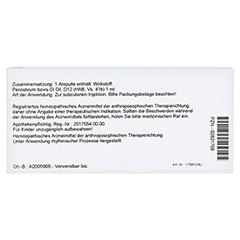 PERIOSTEUM GL D 12 Ampullen 10x1 Milliliter N1 - Rückseite