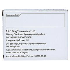 Canifug-Cremolum 200 3 Stück N2 - Rückseite