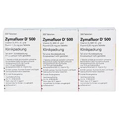 Zymafluor D 500 3x300 Stück - Rückseite