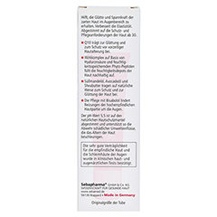 SEBAMED Anti-Ageing Augencreme Q10 15 Milliliter - Rückseite