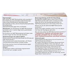 H&S Reizhustentee Filterbeutel 20x2.5 Gramm - Rückseite