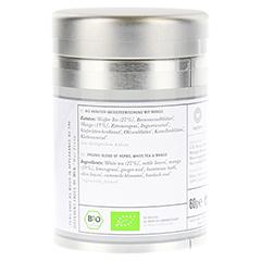 PURE BEAUTY Organic white Tea with Mango Dose 60 Gramm - Linke Seite