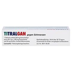 TITRALGAN gegen Schmerzen 20 Stück N2 - Oberseite