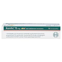 Ranitic 75mg akut bei Sodbrennen 14 Stück - Oberseite