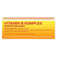 VITAMIN B KOMPLEX forte Hevert Tabletten 50 Stück N2 - Oberseite