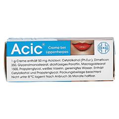 Acic bei Lippenherpes 2 Gramm N1 - Oberseite