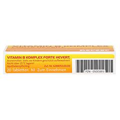 Vitamin B-Komplex forte Hevert 20 Stück N1 - Unterseite
