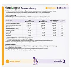 flexiLoges Gelenknahrung 240 Stück - Unterseite