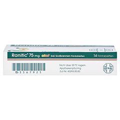 Ranitic 75mg akut bei Sodbrennen 14 Stück - Unterseite