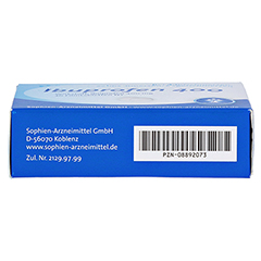 Ibuprofen 400 Sophien 30 Stück N2 - Unterseite