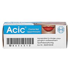 Acic bei Lippenherpes 2 Gramm N1 - Unterseite