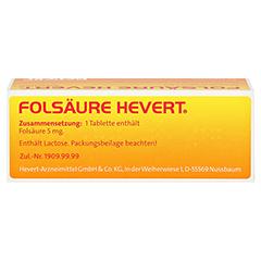 Folsäure-Hevert 50 Stück N2 - Unterseite