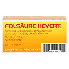 Folsäure-Hevert 100 Stück N3 - Unterseite