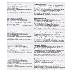 Frubiase Calcium 350mg/500mg 5x20 Stück N3 - Unterseite