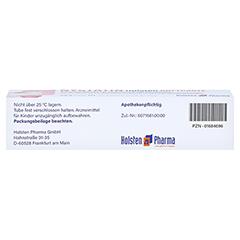 Nystatin Holsten Softpaste 20 Gramm N1 - Unterseite