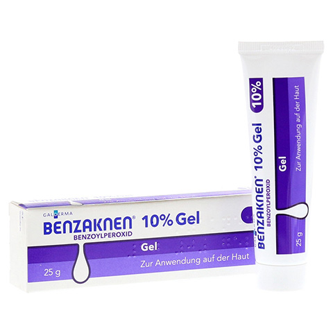 Benzaknen 10% 25 Gramm N1