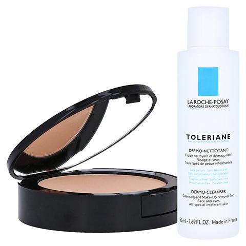 ROCHE POSAY Toleriane Teint Mineral Puder Make-up 13 + gratis La Roche Posay Toleriane Dermo-Cleanser 9 Gramm