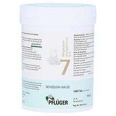 BIOCHEMIE Pflüger 7 Magnesium phosph.D 6 Tabletten 1000 Stück