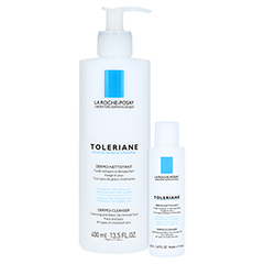 La Roche-Posay Toleriane Reinigungsfluid + gratis La Roche-Posay Toleriane Dermo-Cleanser 400 Milliliter