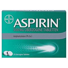 Aspirin 500mg 20 Stück - Vorderseite