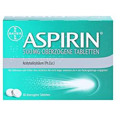 Aspirin 500mg 40 Stück - Rückseite