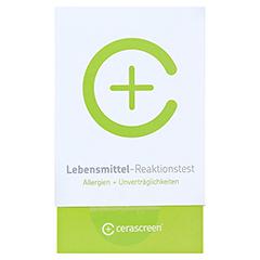 LEBENSMITTEL REAKTIONSTEST 1 Stück - Vorderseite