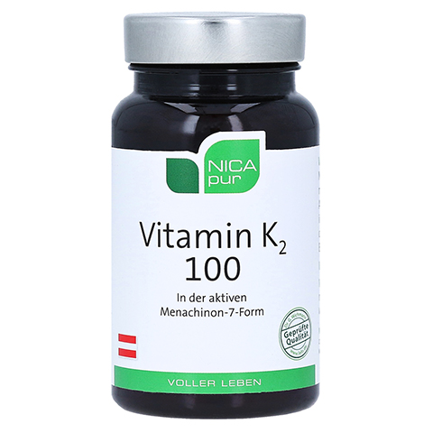 NICAPUR Vitamin K2 100 Kapseln 60 Stück