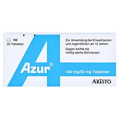 Azur 450mg/50mg 20 Stück N2 - Vorderseite
