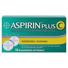 Aspirin plus C 10 Stück - Rückseite