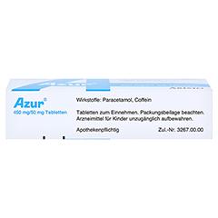 Azur 450mg/50mg 20 Stück N2 - Unterseite