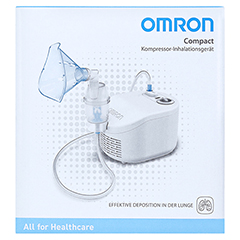 OMRON Compact Kompressor-Inhalationsgerät 1 Stück - Vorderseite