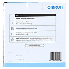 OMRON Compact Kompressor-Inhalationsgerät 1 Stück - Rückseite
