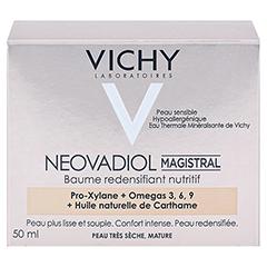 Vichy Neovadiol Magistral Rekonstruktiver Pflege-Balsam für reife Haut 50 Milliliter - Rückseite