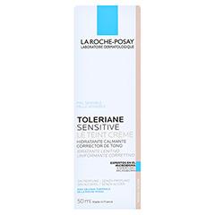 La Roche-Posay Toleriane sensitive Le Teint Creme mittel 50 Milliliter - Rückseite