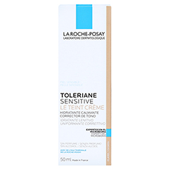 La Roche-Posay Toleriane sensitive Le Teint Creme hell 50 Milliliter - Rückseite