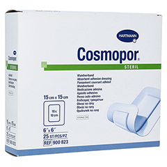 COSMOPOR steril 15x15 cm 25 Stück