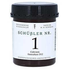 SCHÜSSLER Nr.1 Calcium fluoratum D 12 Tabletten 1000 Stück