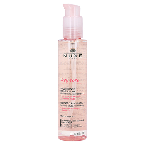 NUXE Very Rose Mizellen-Reinigungsöl 150 Milliliter