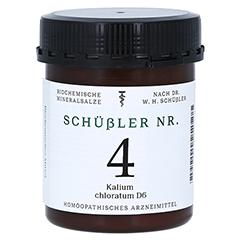 SCHÜSSLER Nr.4 Kalium chloratum D 6 Tabletten 1000 Stück