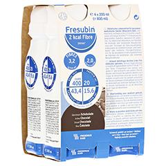 FRESUBIN 2 kcal Fibre DRINK Schokolade Trinkfl. 4x200 Milliliter