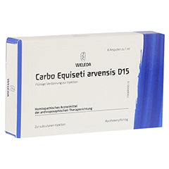 CARBO EQUISETI arvensis D 15 Ampullen 8x1 Milliliter N1