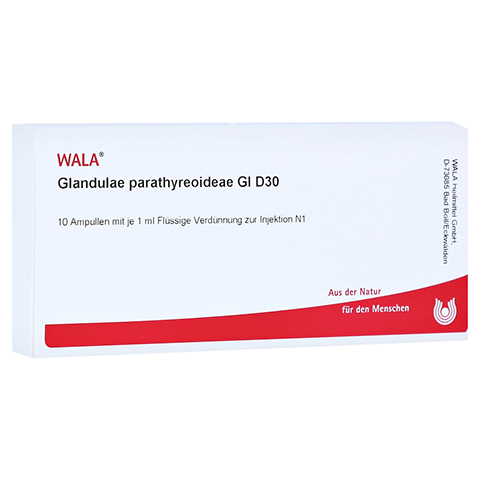 GLANDULAE PARATHYREOIDEAE GL D 30 Ampullen 10x1 Milliliter N1