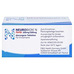 Neurobion N forte 100 Stück - Rechte Seite