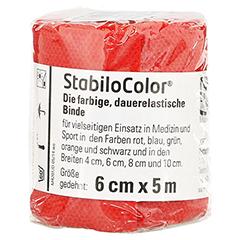 BORT StabiloColor Binde 6 cm rot 1 Stück
