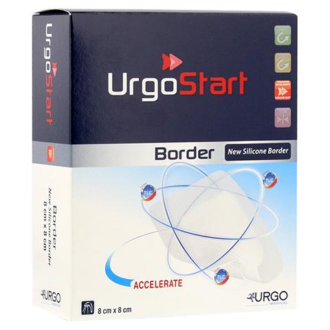 URGOSTART Border 8x8 cm Schaumstoffwundverband 10 Stück