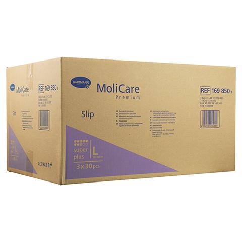 MOLICARE Premium Slip super plus Gr.L 3x30 Stück