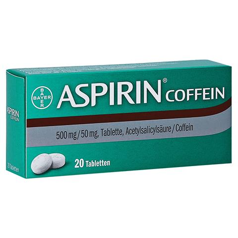 Aspirin Coffein 20 Stück
