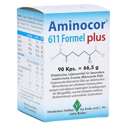 AMINOCOR 611 Formel plus Kapseln 90 Stück