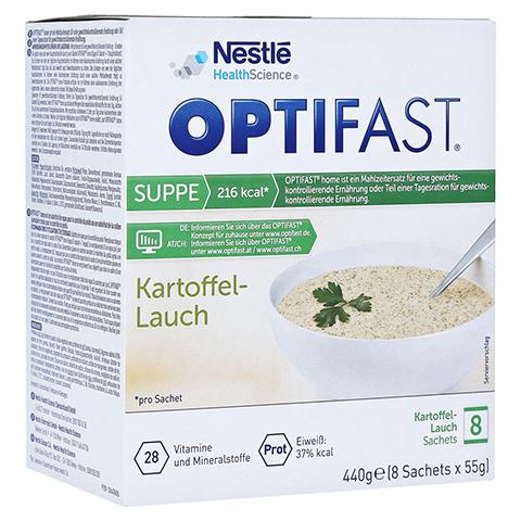 Optifast home Suppe Kartoffel-Lauch 8x53 Gramm