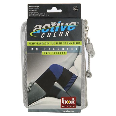 BORT ActiveColor Kniebandage xx-large schwarz 1 Stück